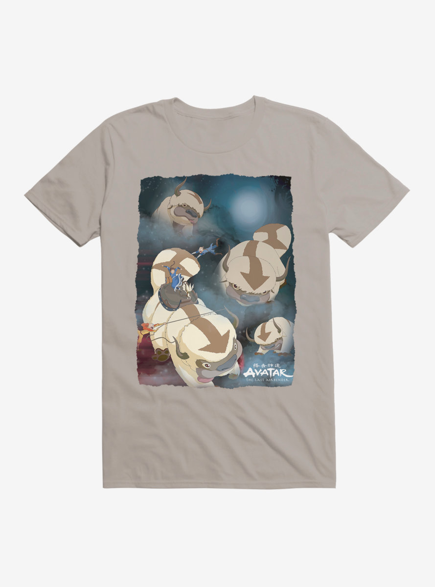 Avatar: The Last Airbender Appa Yip Yip T-Shirt