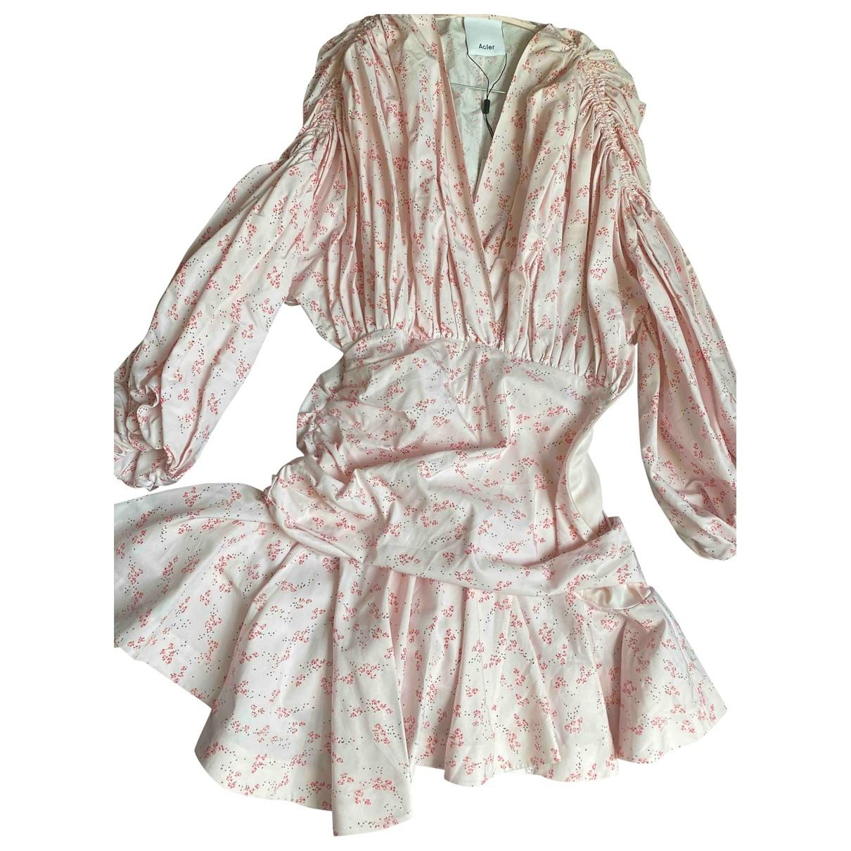 Acler - Robe   pour femme en coton - violet