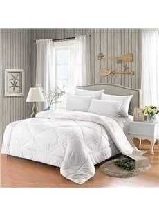 All-Season Bed Comforter Best Soft Down Alternative Quilted Comforter Warm Machine Washable