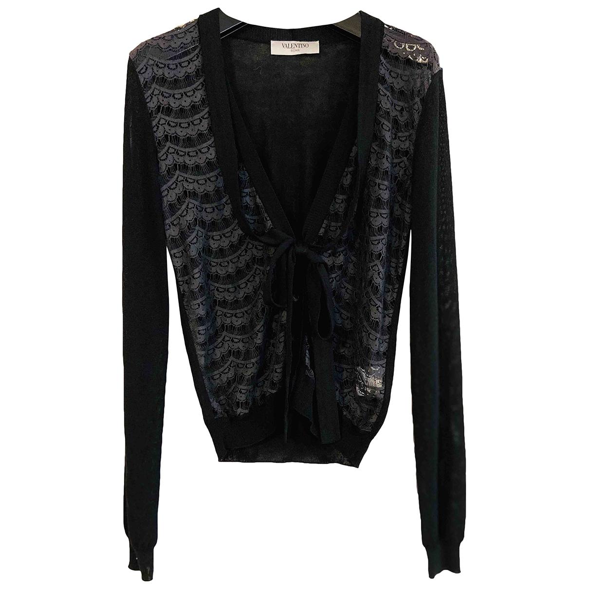 Valentino Garavani - Pull   pour femme en coton - noir