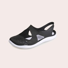 Hollow Out Jelly Sandals