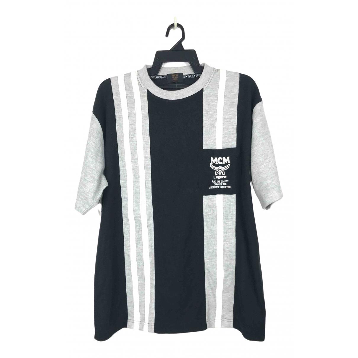 Mcm - Tee shirts   pour homme en coton - gris