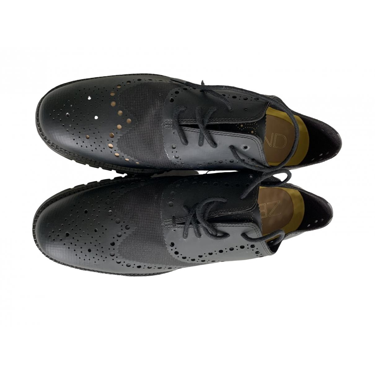Cole Haan \N Sneakers in  Schwarz Leder