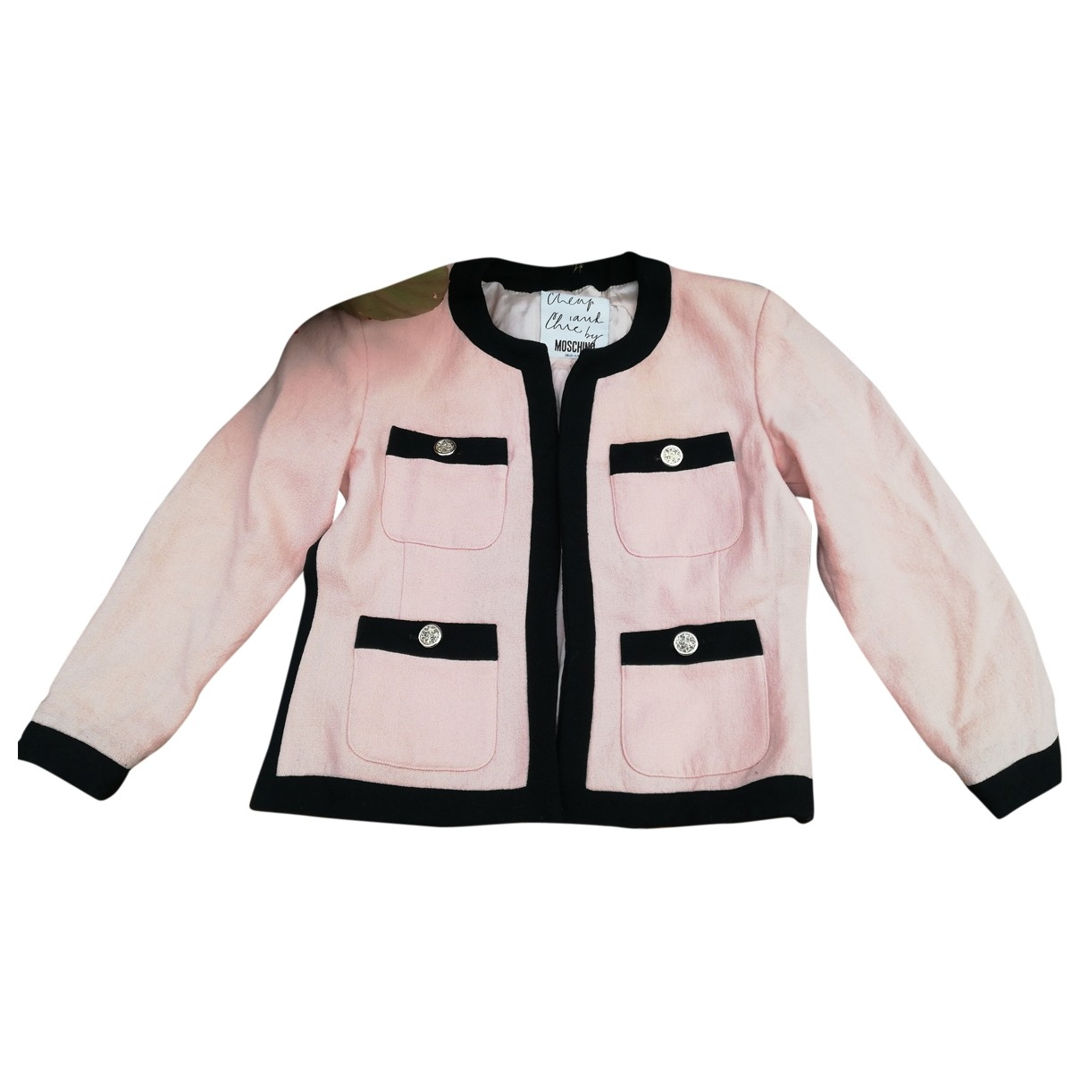 Moschino Cheap And Chic \N Pink Silk jacket for Women 38 FR