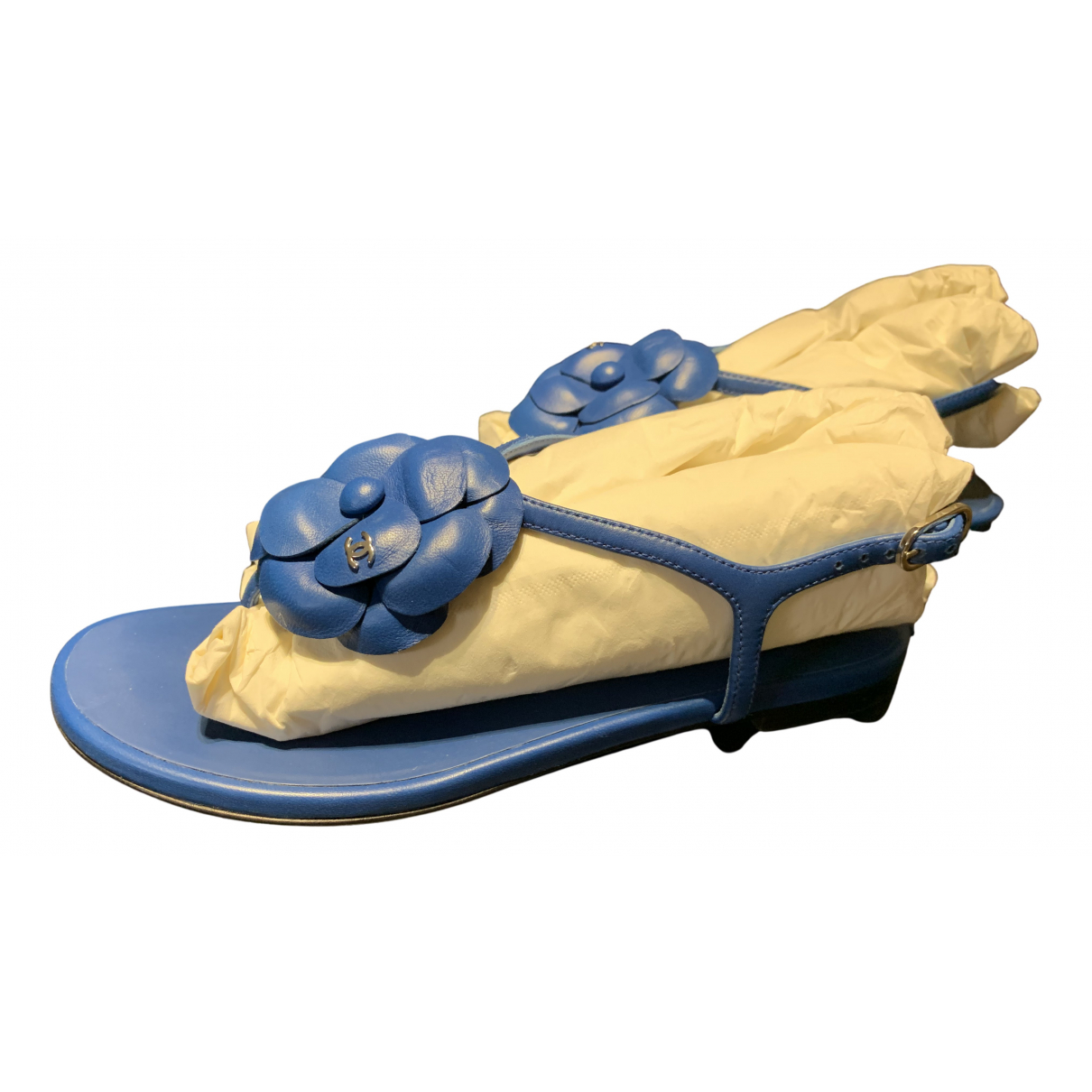 Sandalias de Cuero Chanel