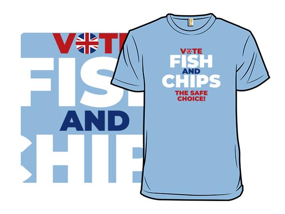 Fish And Chips T Shirt