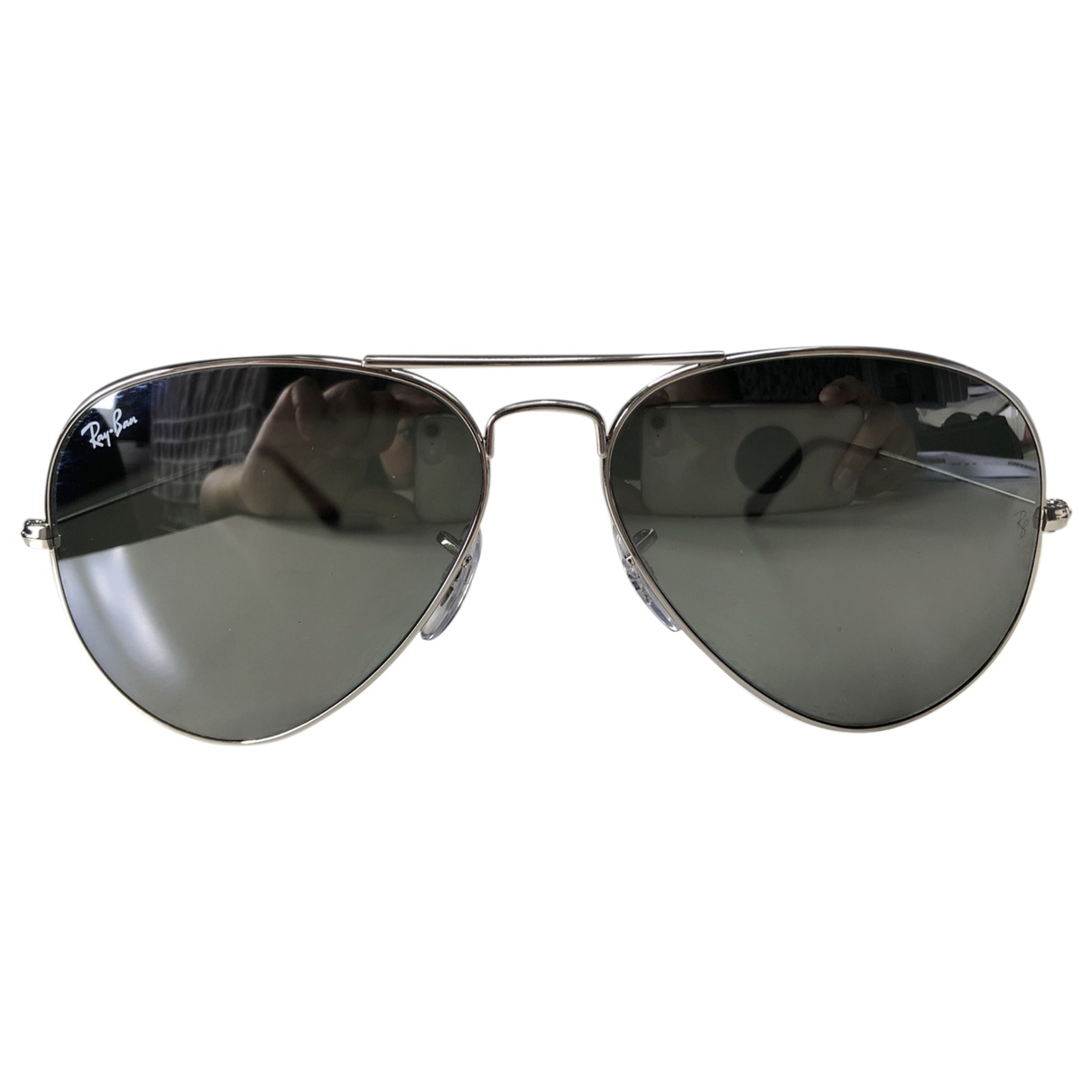 Ray-ban \N Silver Metal Sunglasses for Women \N