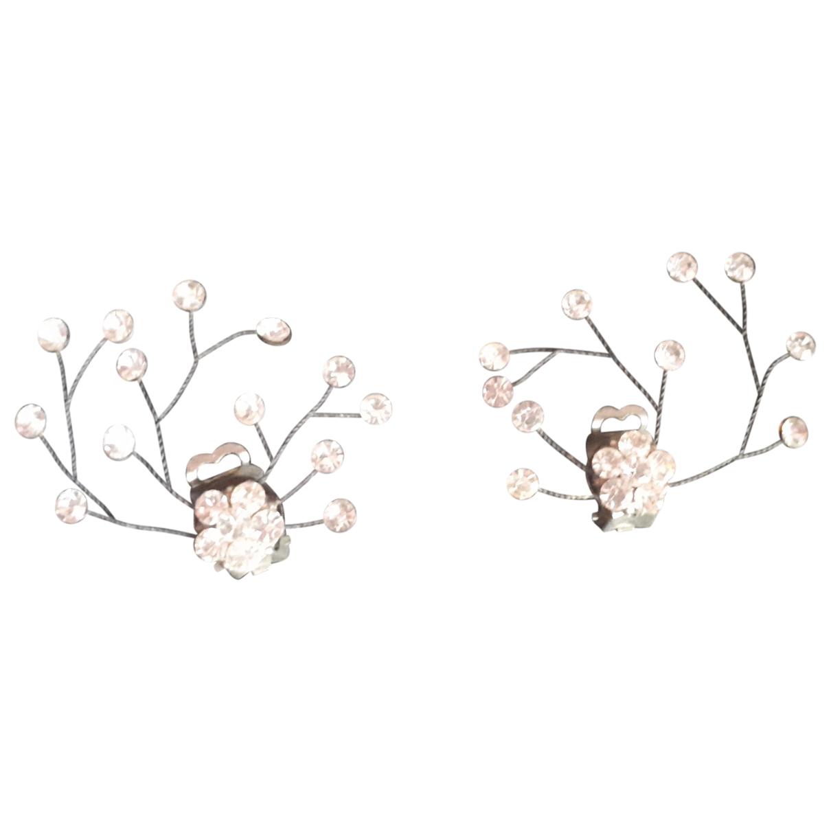 - Boucles doreilles Motifs Floraux pour femme en metal