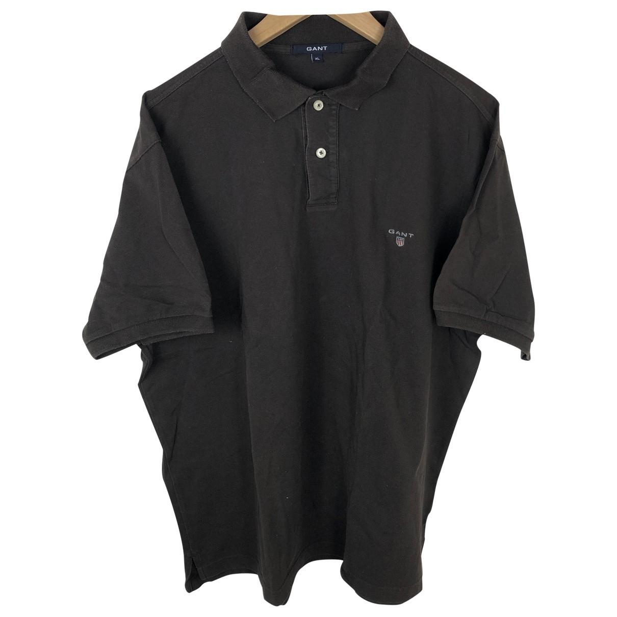 Gant - Polos   pour homme en coton - marron