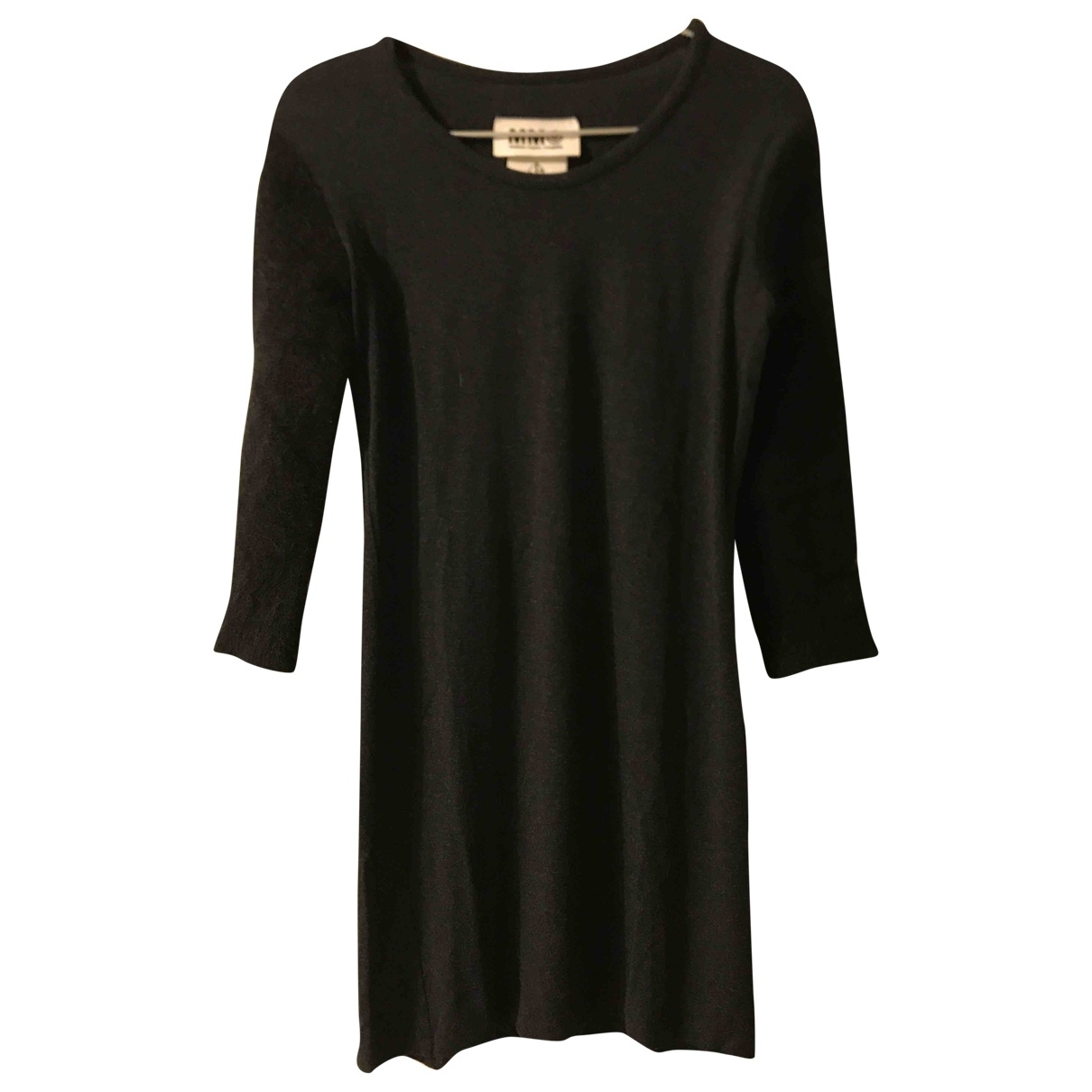 Mm6 \N Black Cotton dress for Women M International
