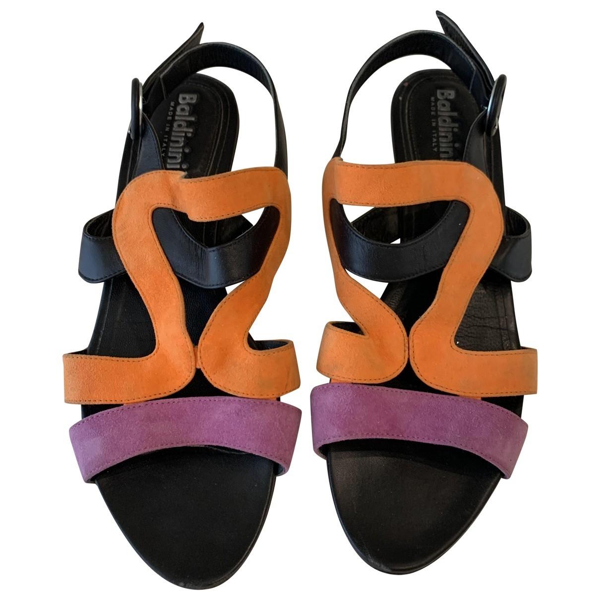 Sandalias de Cuero Baldinini