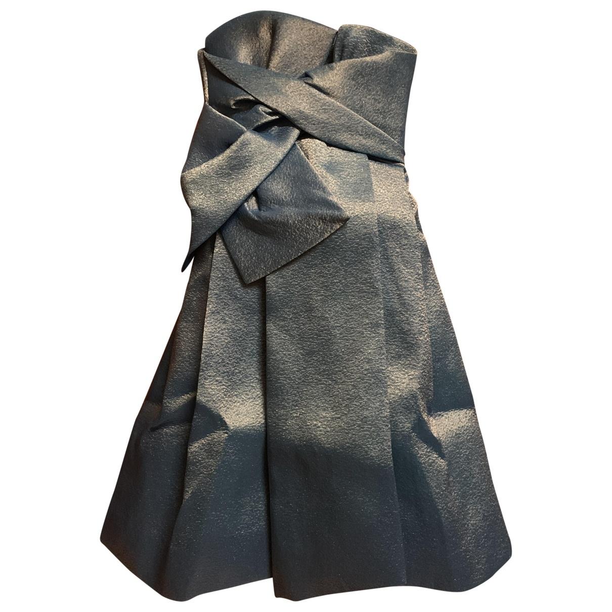 Dsquared2 \N Kleid in  Blau Polyester