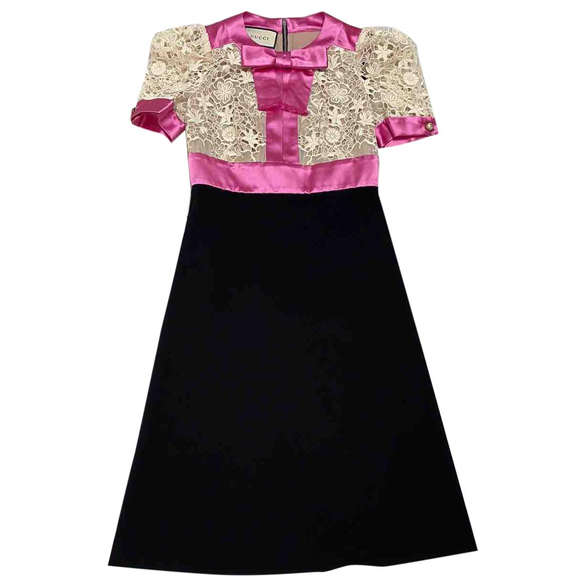 Gucci - Robe   pour femme en coton - elasthane - multicolore