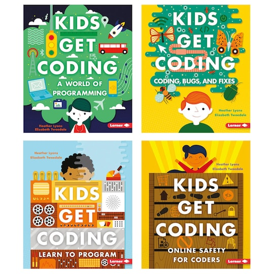 Kids Get Coding Books, 4Ct. By Lerner Publishing Group | Michaels®