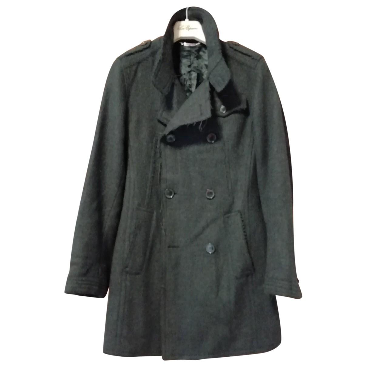 Dolce & Gabbana \N Grey Wool coat  for Men 48 IT