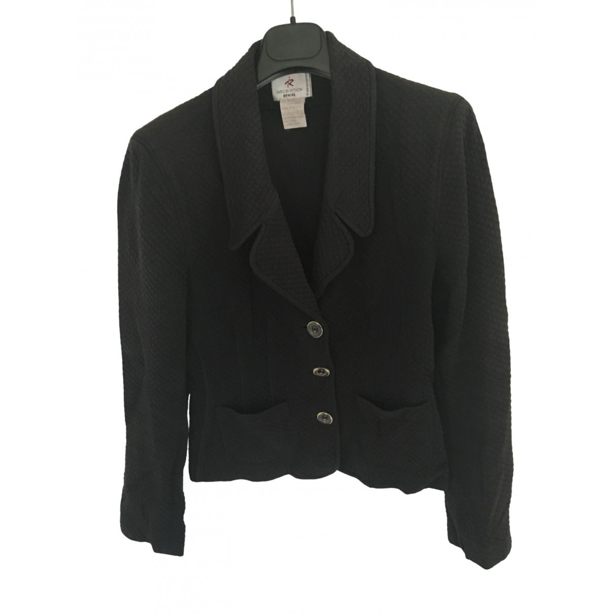 Sonia Rykiel - Veste   pour femme en coton - noir