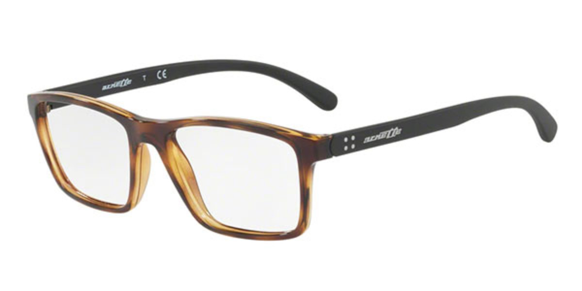 Arnette AN7133 2087 Men's Glasses Tortoise Size 53 - Free Lenses - HSA/FSA Insurance - Blue Light Block Available