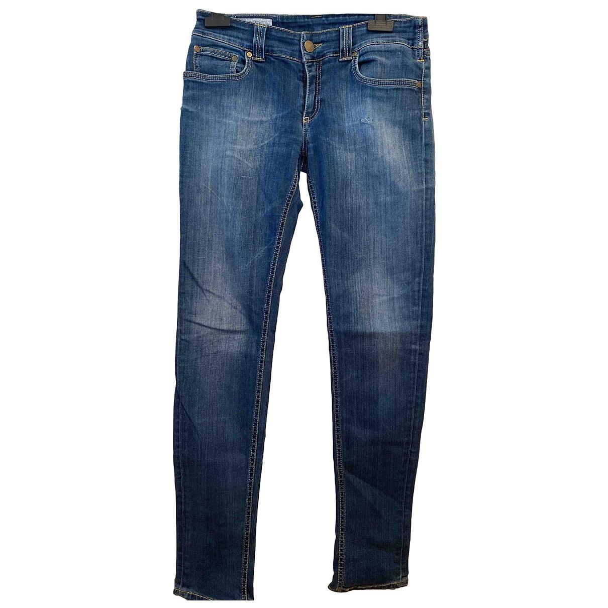 Dondup \N Blue Denim - Jeans Jeans for Women 28 US