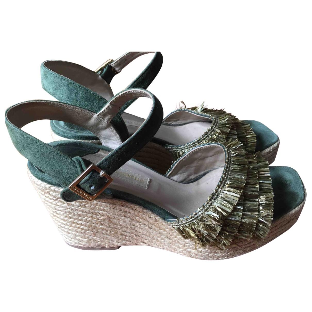 Sandalias de Cuero Paloma Barcelo
