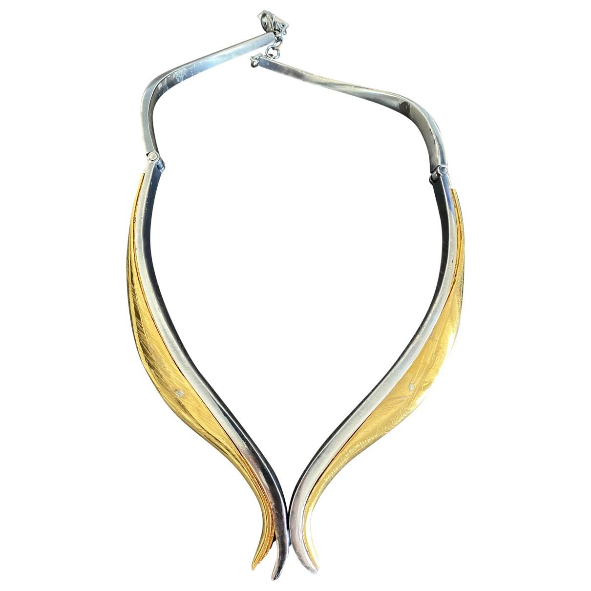 Vionnet - Collier   pour femme en metal - dore