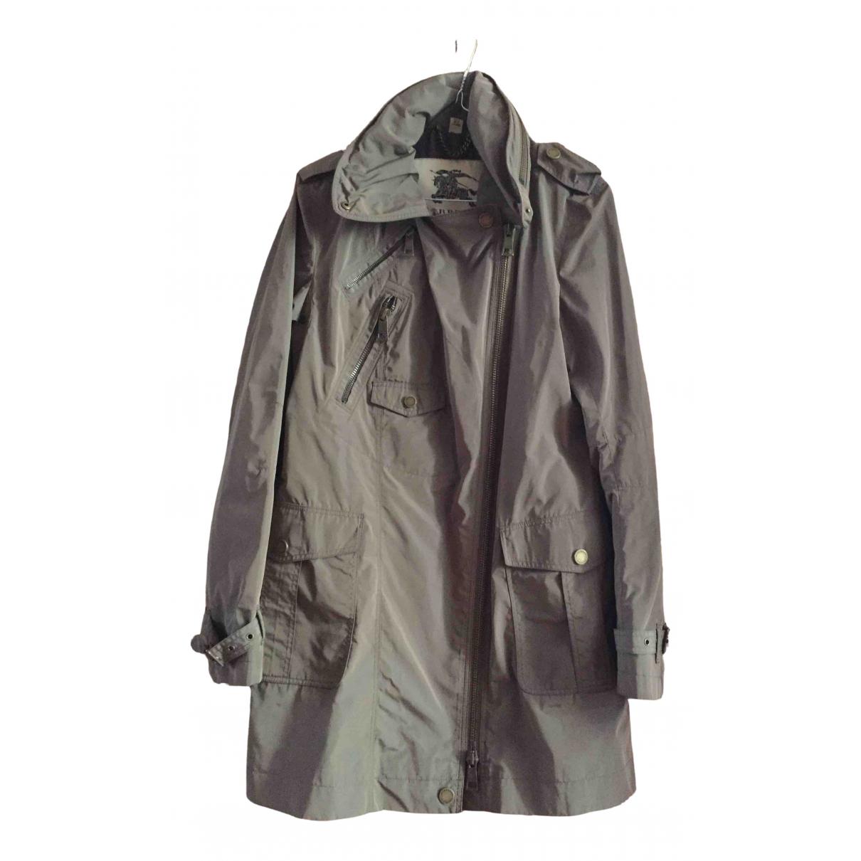 Burberry - Manteau   pour femme - kaki
