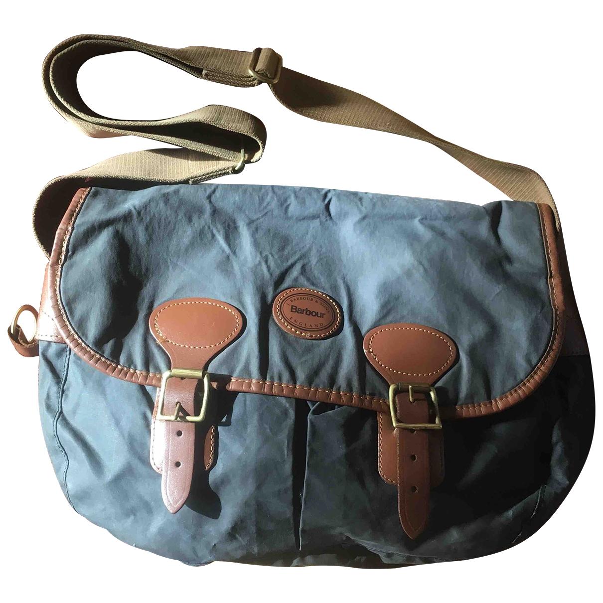 Barbour \N Handtasche in  Blau Synthetik