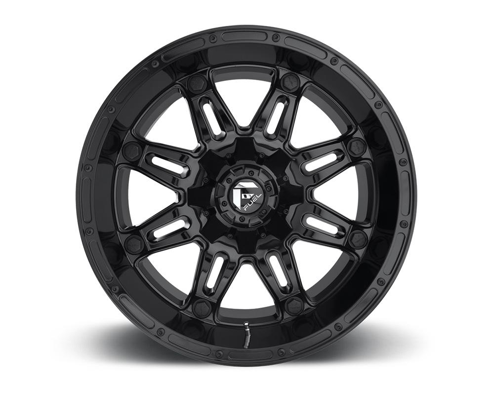 Fuel D625 Hostage Gloss Black 1-Piece Cast Wheel 20x10 8x165.1 -18mm