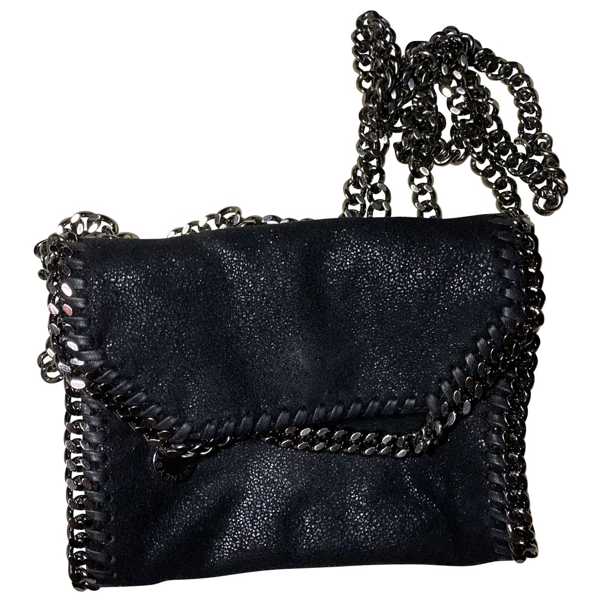 Stella Mccartney Falabella Clutch in  Schwarz Polyester