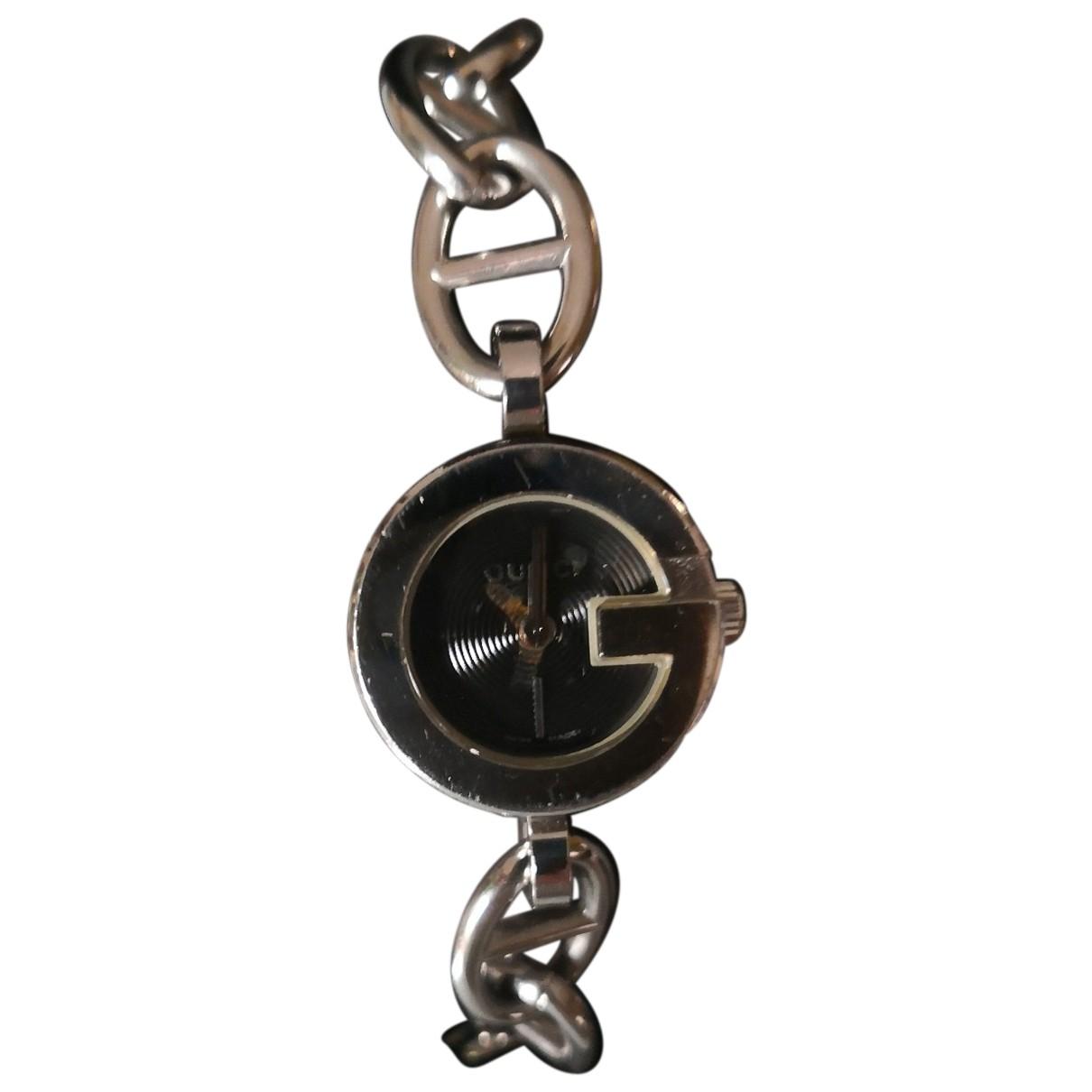 Gucci Signora Uhr in  Silber Stahl