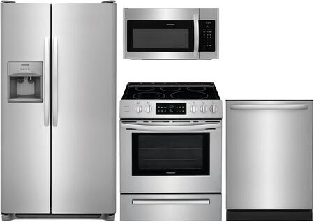 4 Piece Kitchen Appliance Package with FFSS2615TS 36