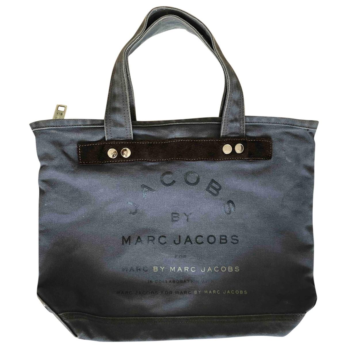 Marc By Marc Jacobs \N Handtasche in  Grau Leinen