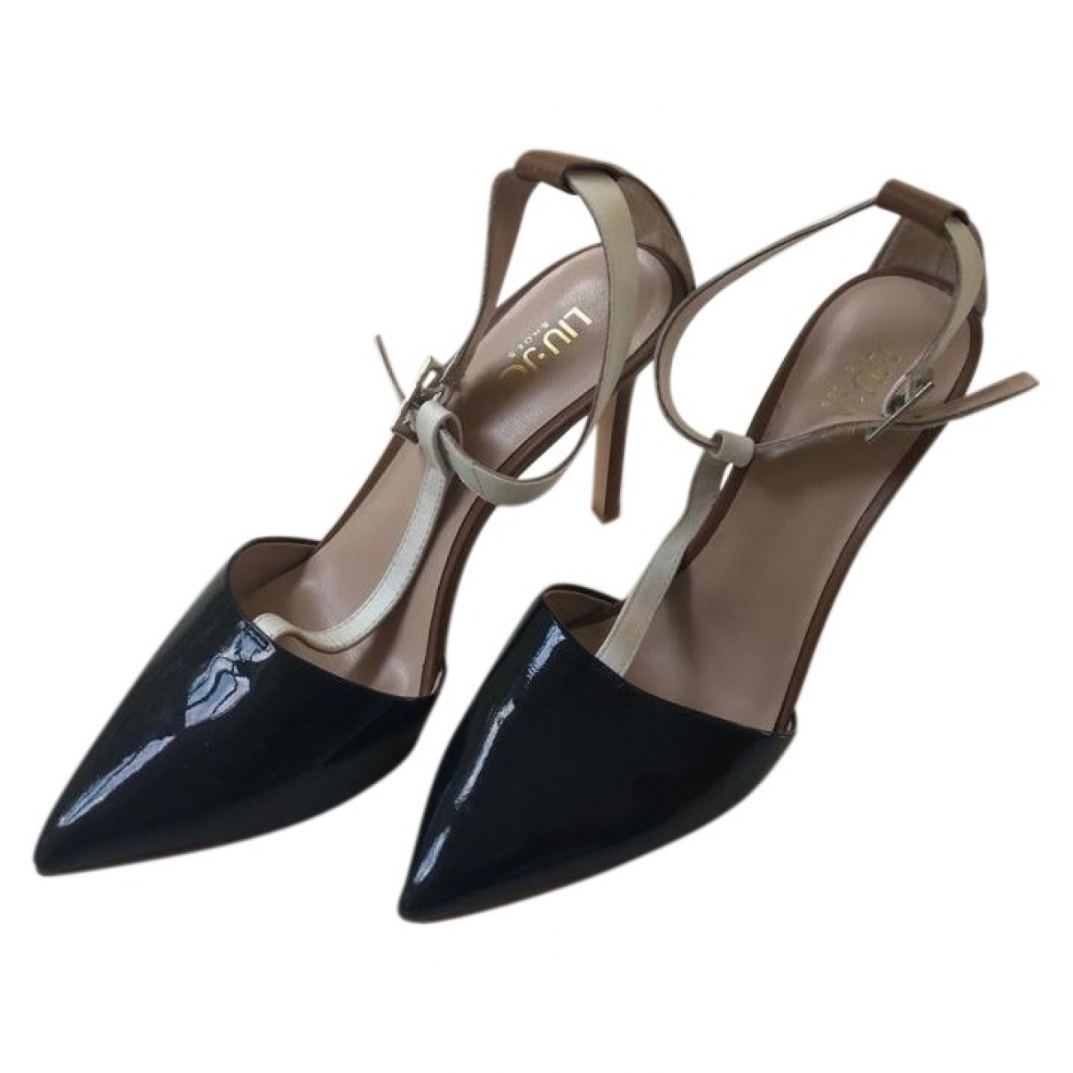 Liu.jo \N Black Patent leather Heels for Women 39 EU