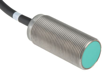 Pepperl + Fuchs M18 x 1 Inductive Sensor - Barrel, NC Output, 5 mm Detection, IP67, Cable Terminal