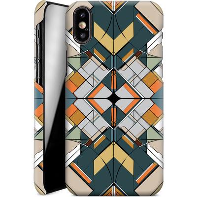 Apple iPhone X Smartphone Huelle - Mosaic I von caseable Designs