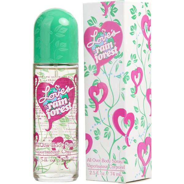 Dana - Loves Rainforest : Body Spray 2.5 Oz / 75 ml