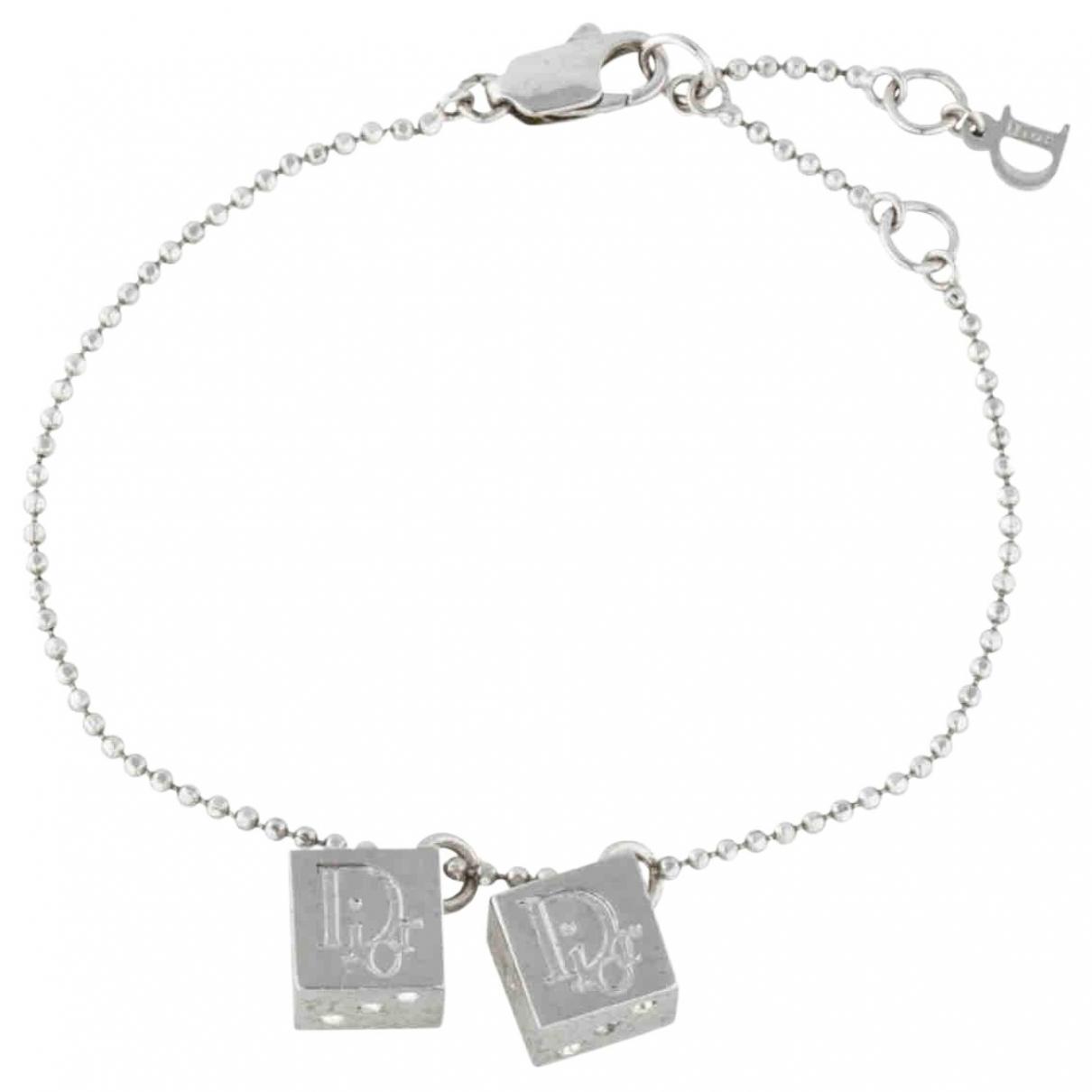 Dior - Bracelet   pour femme en metal - argente