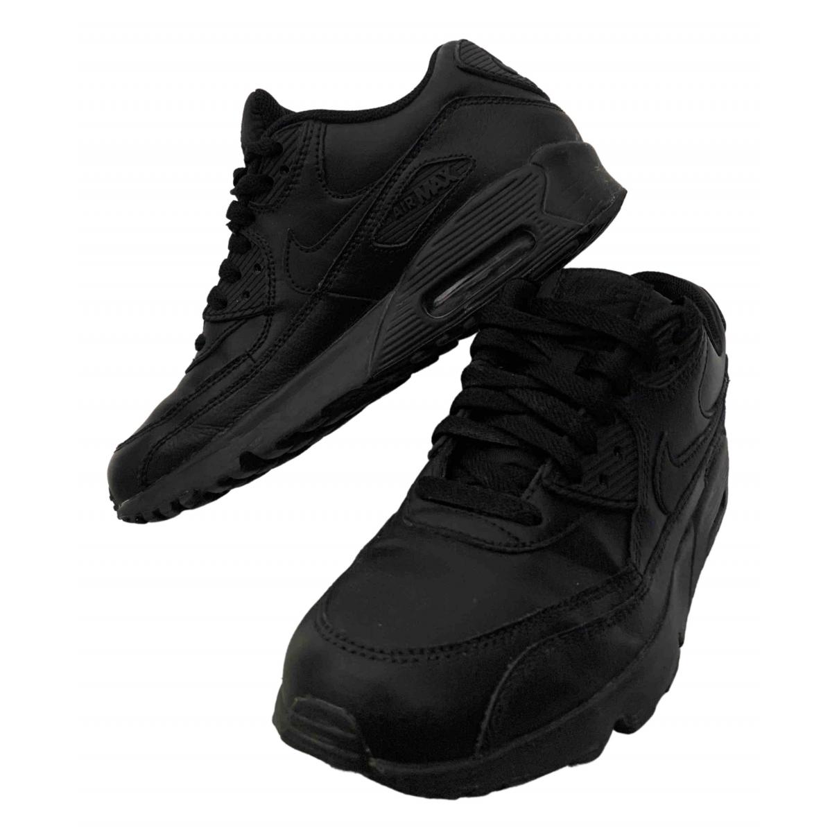 Nike Air Max 90 Sneakers in  Schwarz Leder