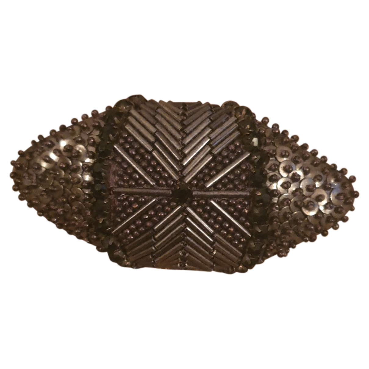 Broche en Metal Marron Hoss Intropia