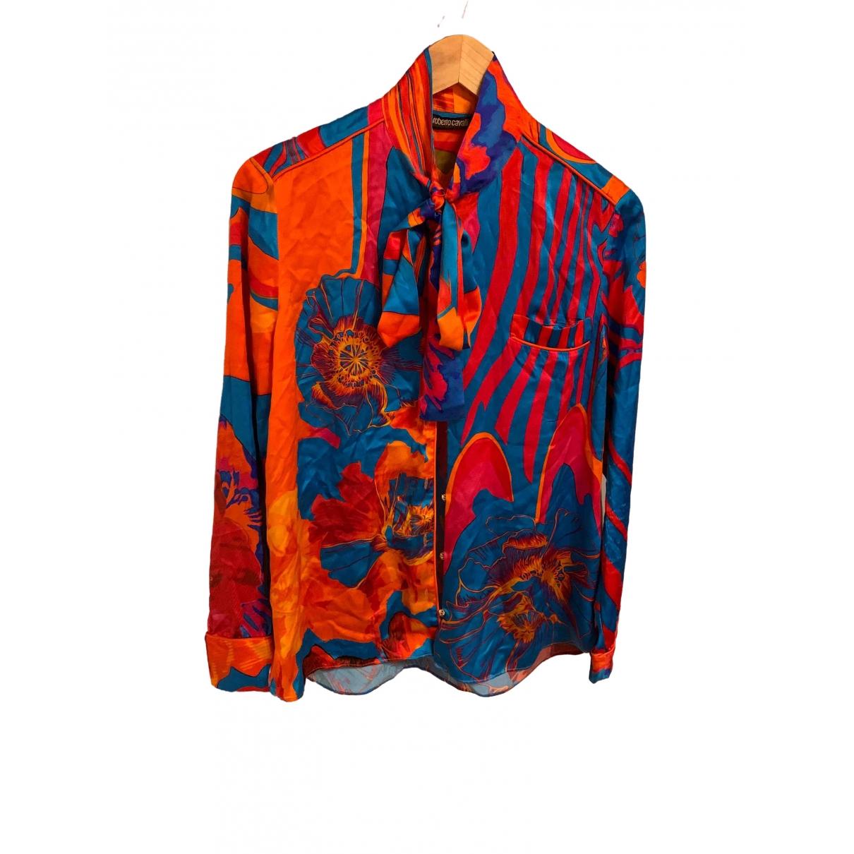 Roberto Cavalli \N Silk  top for Women 42 IT