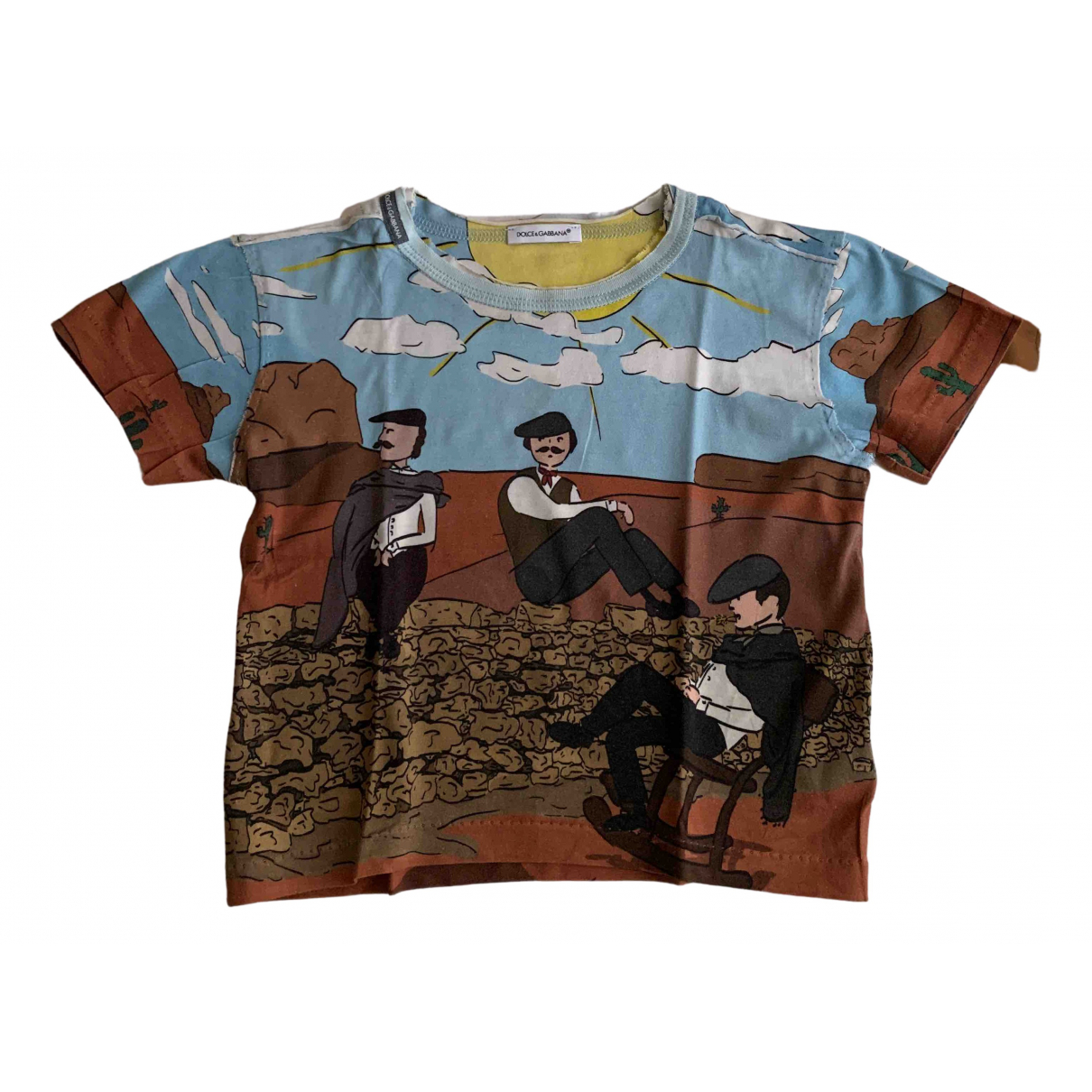 Dolce & Gabbana N Multicolour Cotton  top for Kids 2 years - up to 86cm FR