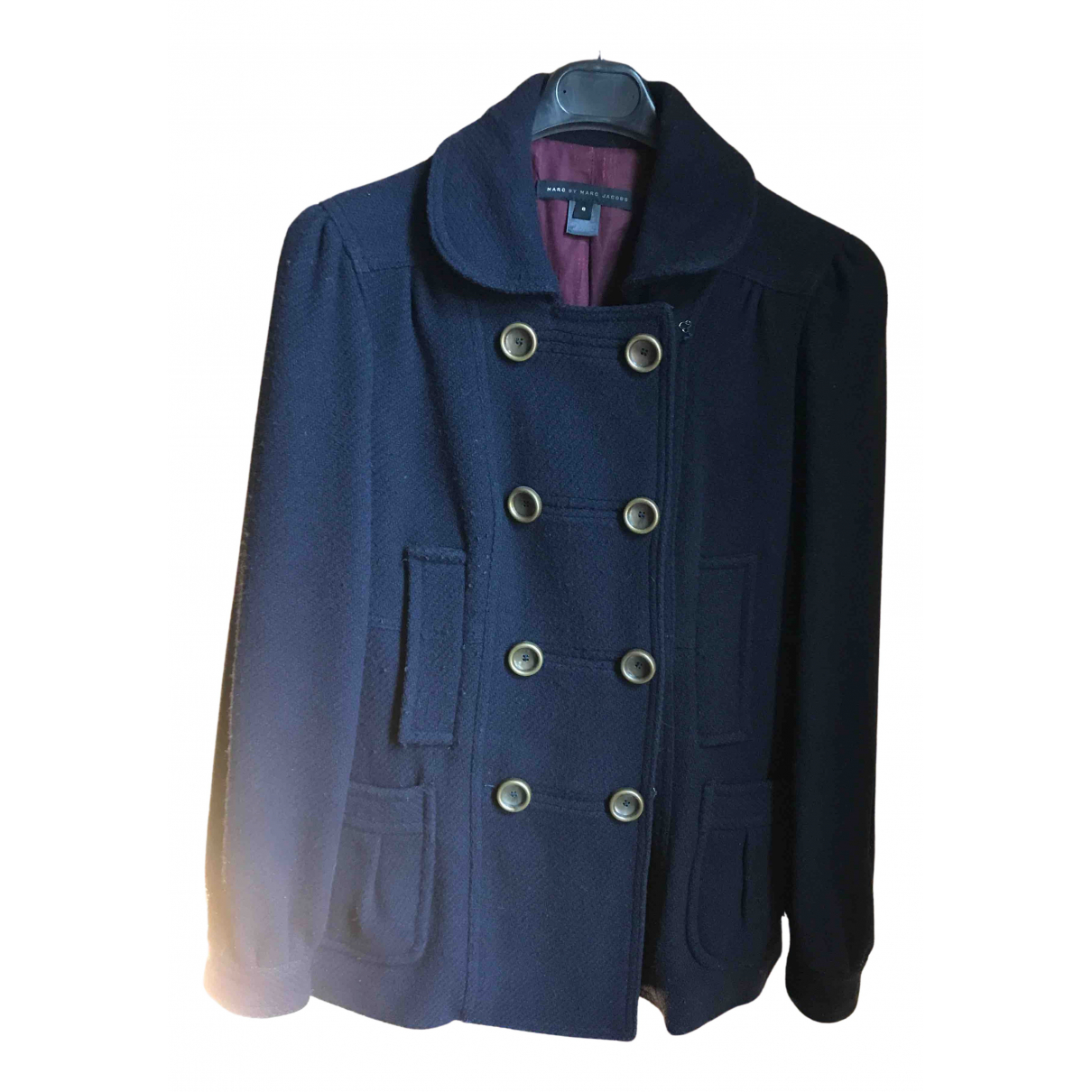 Marc By Marc Jacobs N Blue Wool coat for Women 6 US