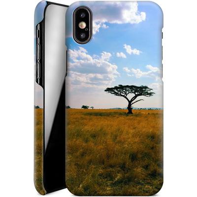 Apple iPhone XS Smartphone Huelle - Tanzanian Savanna von Omid Scheybani