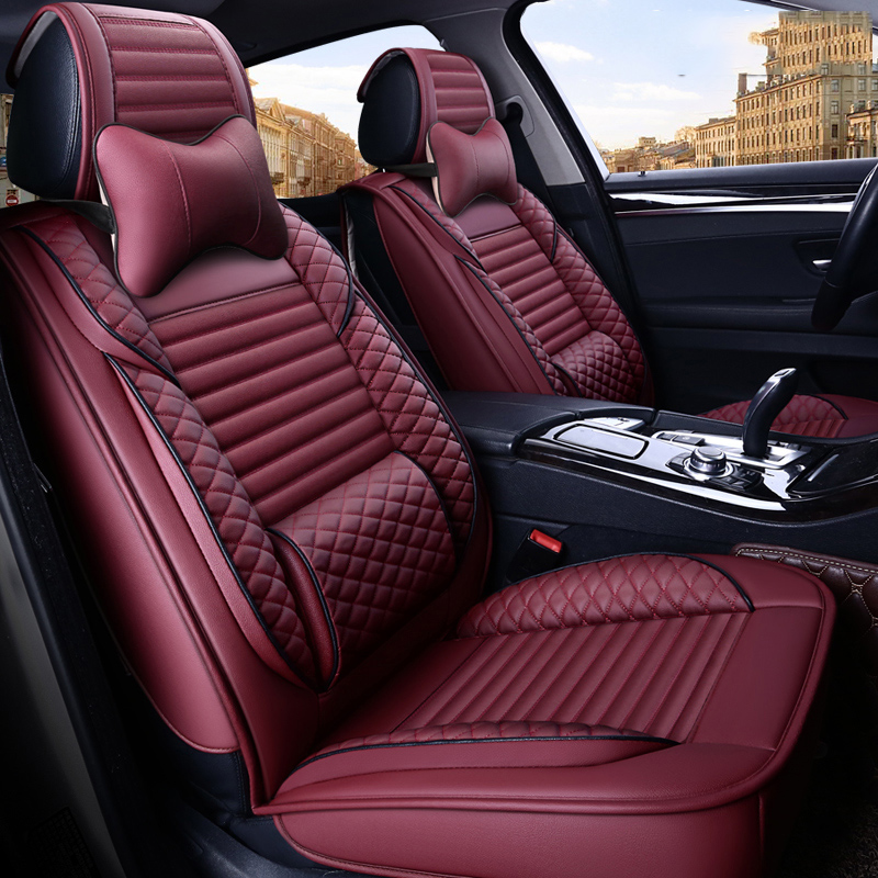 Plain Style Universal Drivers Seat Cover Seat Protector Pad Fit Most Car