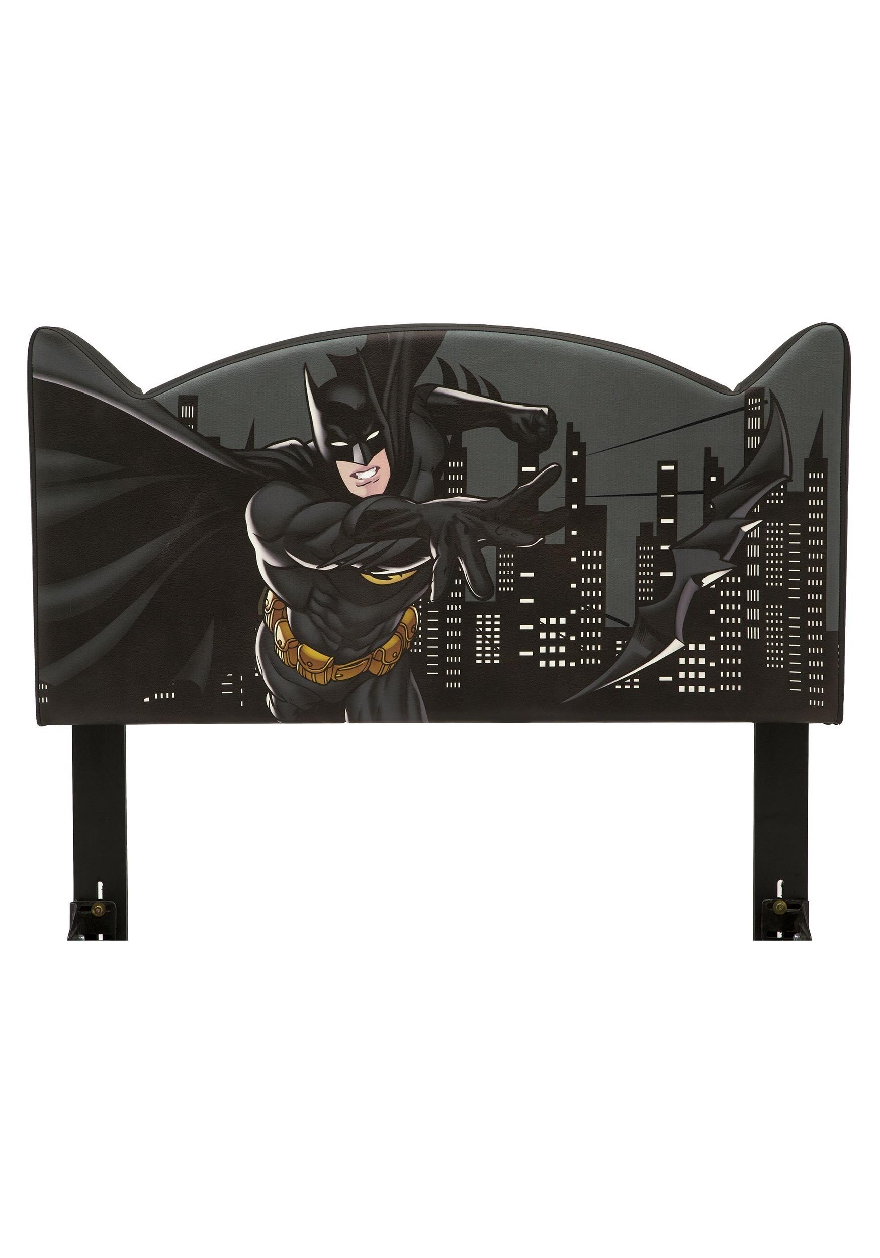 Upholstered Twin Batman Headboard