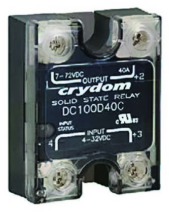 Sensata / Crydom 100 A SPNO Solid State Relay, Instantaneous, Surface Mount, MOSFET, 72 V dc Maximum Load