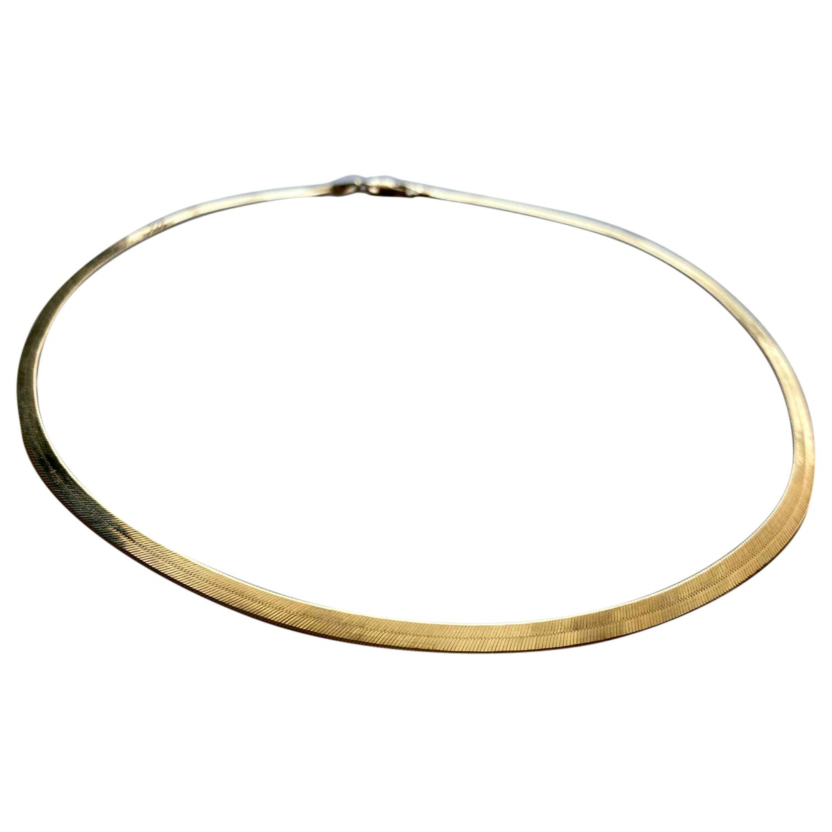 Non Signe / Unsigned \N Kette in Gelbgold