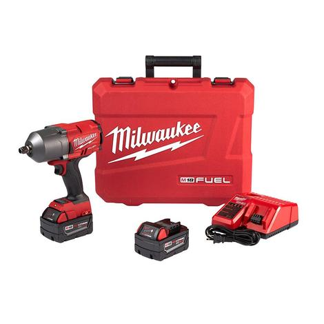Milwaukee M18 Fuel™ 1/2 In. High Torque Impact Wrench with Friction Ring Kit
