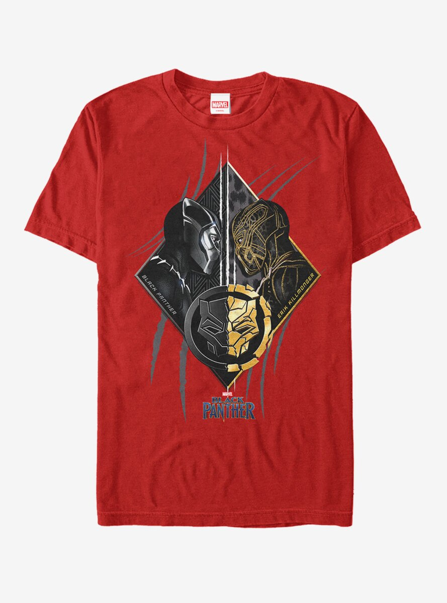 Marvel Black Panther 2018 Ultimate Battle T-Shirt