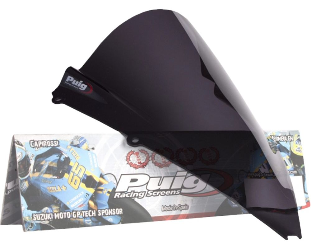 Puig 4945F Z-Racing Windscreen - Dark Smoke Aprilia RSV4 2009