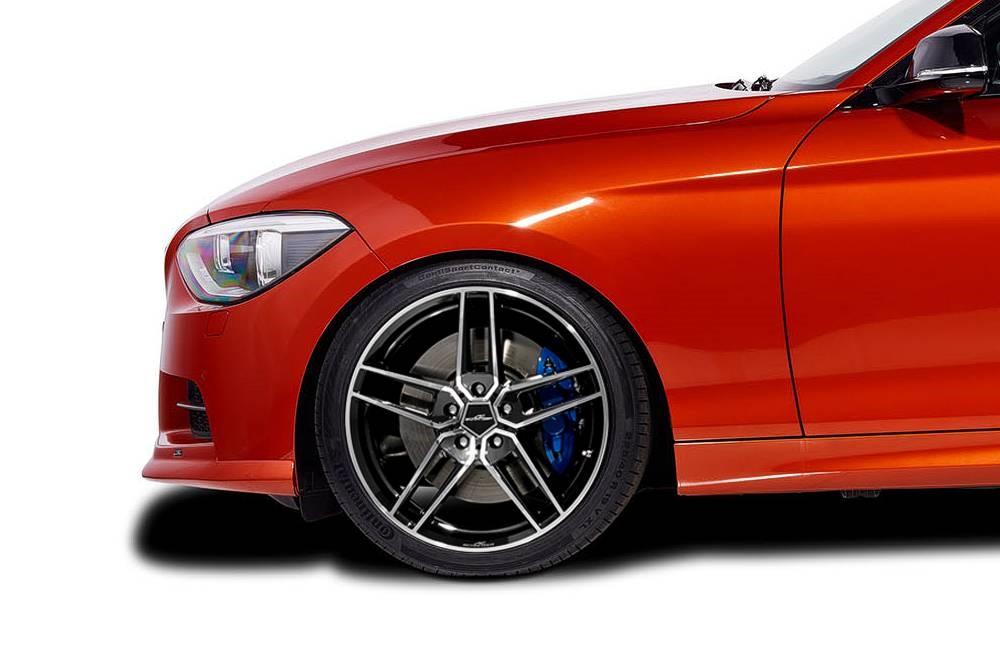 AC Schnitzer 82322204108 Type VIII BiColor Wheel Set w/ Continental Tires 19x8.5 BMW F20 | F21 | F22 | F23